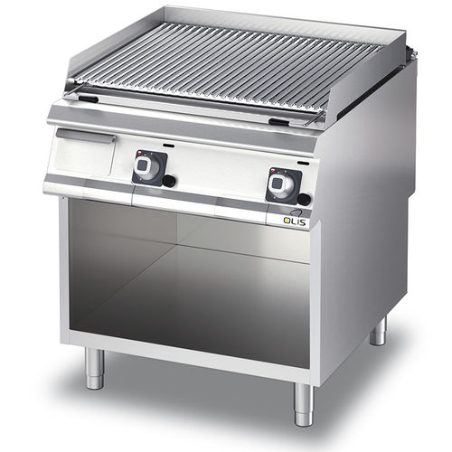 gas grill / countertop / commercial / stainless steel