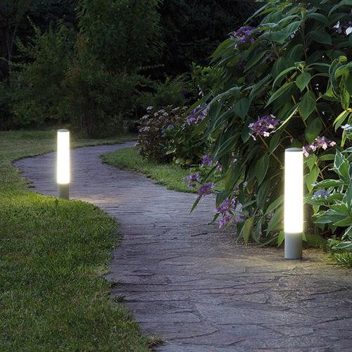 Public space bollard light / garden / contemporary / anodized aluminum SULU HORIZON s.r.l.