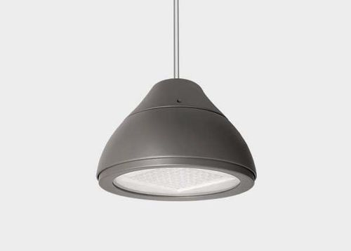 hanging light fixture / LED / round / outdoor