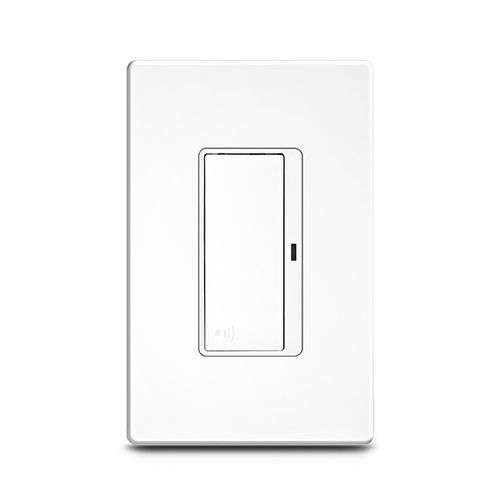 light switch / push-button / polycarbonate / aluminum