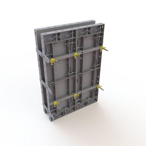 modular formwork / frame / steel / plywood