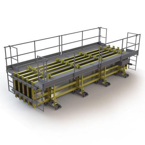 modular formwork / steel / column / beam