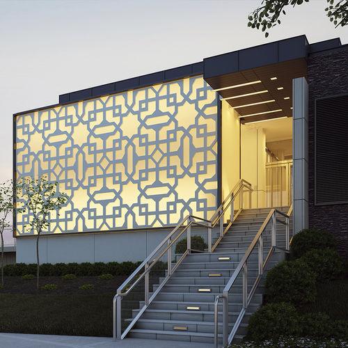 Decorative panel / MDF / composite / aluminum RIAD DEMAMBA