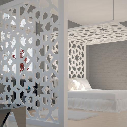 MDF decorative panel / composite / aluminum / stainless steel