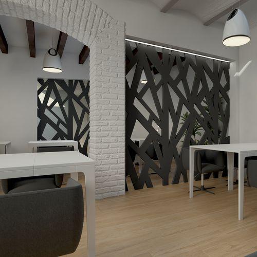 Decorative panel / MDF / composite / stainless steel IBIZA DEMAMBA