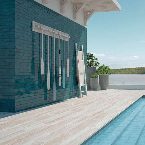 Outdoor tile / wall / porcelain stoneware / plain VANITY Topgres GmbH & Co. KG