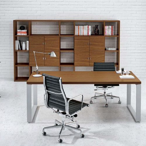 executive desk / wooden / steel / melamine