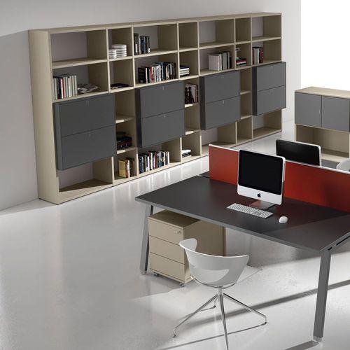 modular bookcase / high / low / contemporary