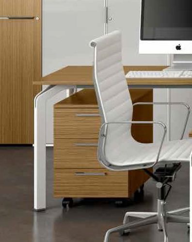 Metal office unit / wooden / melamine / 3-drawer YOGA : YGEE031 Castellani.it srl