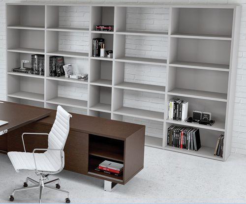 contemporary bookcase / commercial / melamine