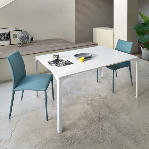 Contemporary dining table / steel / rectangular / square ARMANDO Castellani.it srl