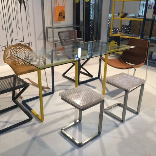 Shop display table / metal UP_SIDEDOWN Castellani.it srl