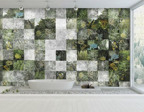 Contemporary wallpaper / fabric / vinyl / nature pattern HOMAGE TO ROUSSEAU Skinwall