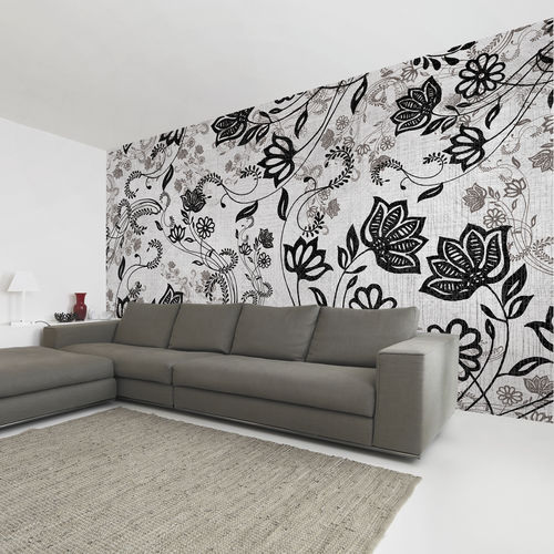 Contemporary wallpaper / fabric / vinyl / floral EASY Skinwall