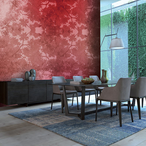 Contemporary wallpaper / fabric / vinyl / nature pattern FOLIAGE Skinwall