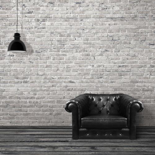 Contemporary wallpaper / fabric / vinyl / patterned GRUNGE BRICKWALL Skinwall