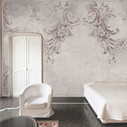 Contemporary wallpaper / fabric / vinyl / floral HEAVEN Skinwall