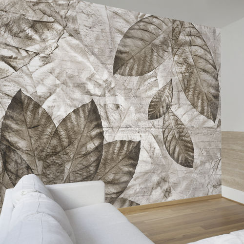 Contemporary wallpaper / fabric / vinyl / nature pattern JUST OUTSIDE THE DOOR Skinwall