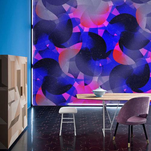 contemporary wallpaper / fabric / vinyl / iridescent