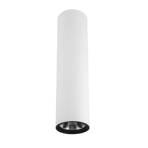 surface mounted downlight / LED / tubular / aluminum
