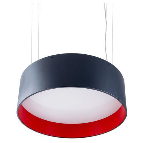 hanging light fixture / LED / fluorescent / round