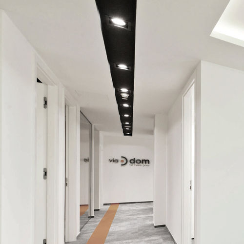Recessed ceiling spotlight / indoor / LED / halogen EXPO FRAME LIRALIGHTING