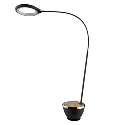 floor-standing lamp / contemporary / metal / dimmable