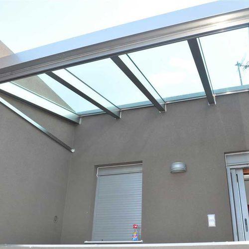 aluminum skylight / fixed / fire-rated