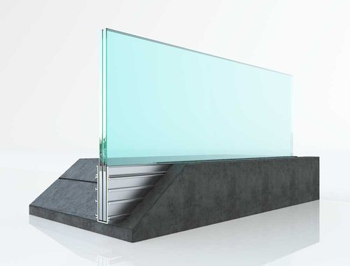 glass railing - Salinox