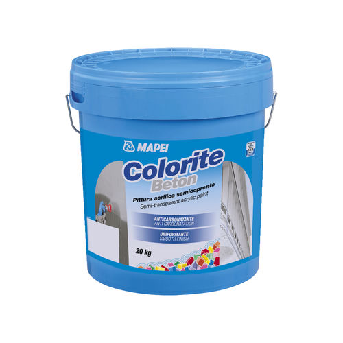 protective paint / finish / for walls / for concrete