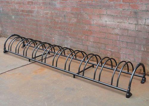 steel bike rack / cast iron / for public spaces