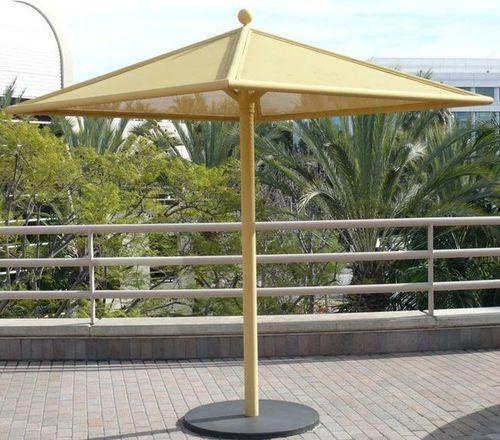 aluminum patio umbrella / steel