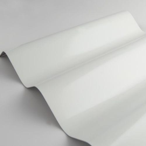 decorative metal sheet / corrugated / aluminum / for facade cladding