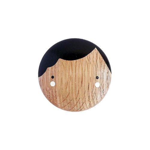 contemporary coat hook / oak