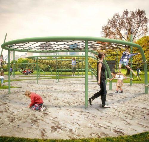 playground climbing structure