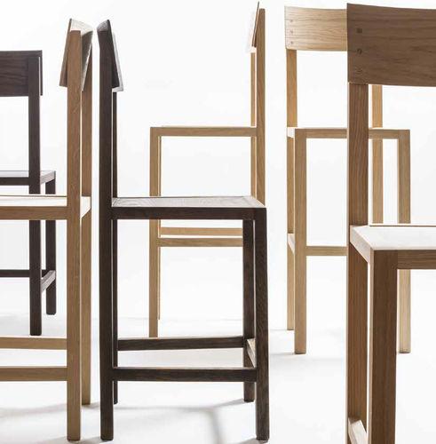 contemporary chair / ergonomic / eco-friendly / oak