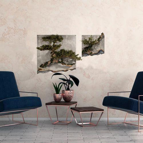 preserved living frame / natural / indoor / custom