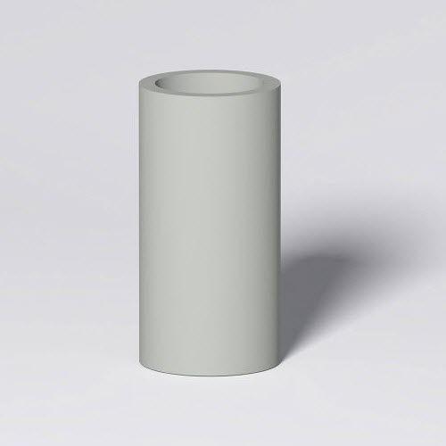 fiberglass garden pot / round