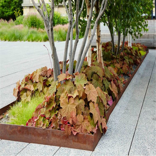 garden edge / stainless steel / aluminum / COR-TEN® steel
