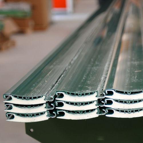 roller shutter / aluminum / PVC / door