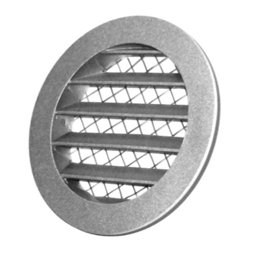 aluminum ventilation grill / round / for air supply and exhaust