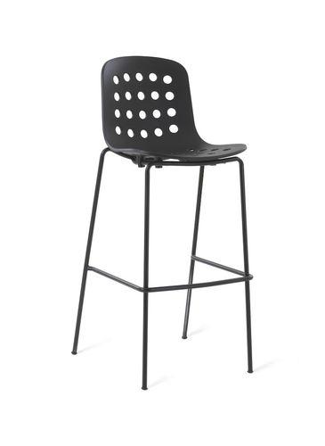contemporary bar stool / metal / polypropylene / contract