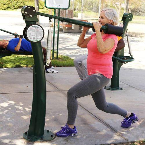 squat weight training machine / outdoor
