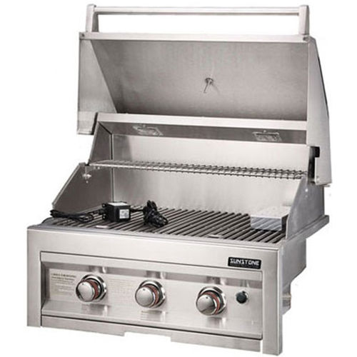 gas barbecue / electric / countertop / stainless steel