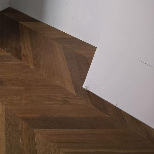 engineered parquet floor / glued / nailed / oak