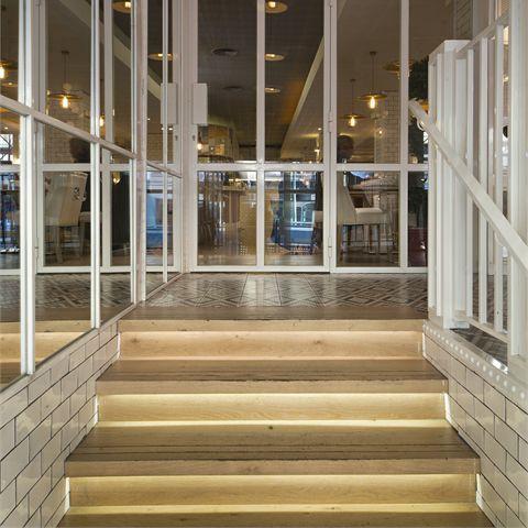 engineered parquet floor / glued / nailed / floating