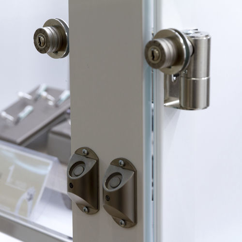 mechanical lock / electronic / glass door / for furniture