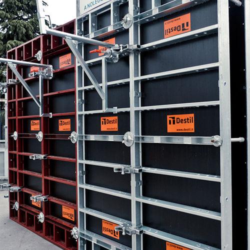 modular formwork / frame / lightweight / steel