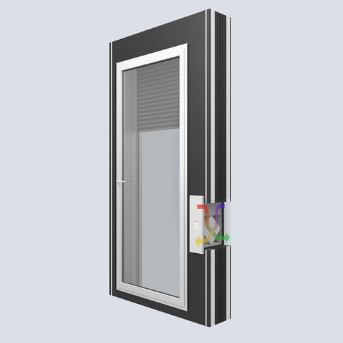 roller shutter / window / acoustic / thermally-insulated