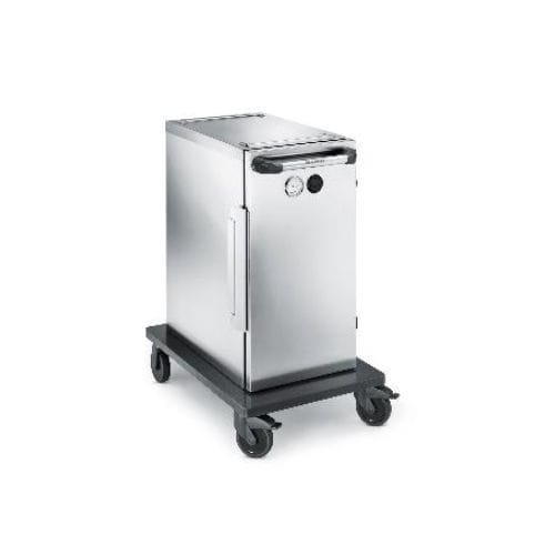 commercial trolley / refrigerated / warming / stainless steel